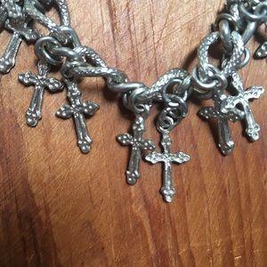 Jewelry - Handmade Cross Bracelet